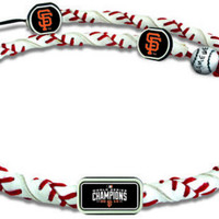 Gamewear Frozen Rope Necklace - MLB 2014 World Series Champion San Francisco Giants