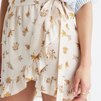 Silk Meadow Wrap Skirt in Field Bouquet : | Madewell