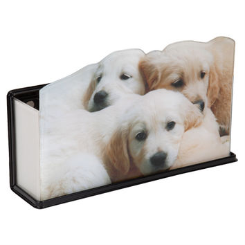 Puppy Trio Fun Caddy Basket