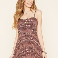 Knotted Bow Cami Dress