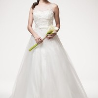 Divine Sleeveless Wedding Dress