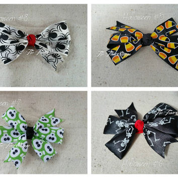 SALE!!! Halloween Hair Bows - #s 5-8 - Check out all photos for detail!