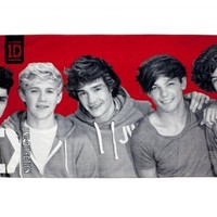 One Direction 'Heartthrob' Printed Beach Towel