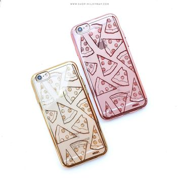 Gilt Pizza' - Clear Case Cover