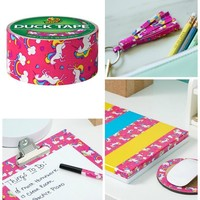 DIY Crafts Unicorn Pattern Duct Tape