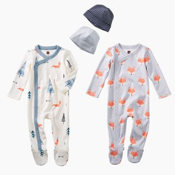 Fox Paw Baby Set