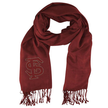Florida State Seminoles NCAA Pashi Fan Scarf (Dark Red)