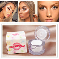 Hot Eye Shadow Shimmer Cream Make Up Palette Bronzer & Highlighter Concealer Cosmetic Long Lasting Women Makeup Tools Free Ship