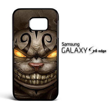 Alice Madness Returns Cheshire Cat Z0999 Samsung Galaxy S6 Edge Case
