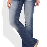 Reign Low Rise Bootcut Jean with Whiskers