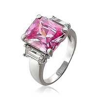Bling Jewelry Sexy Pink Large Ring