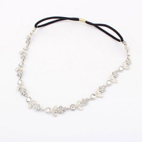 New head chain jewelry bijoux cheveux Brand design crystal metal wedding hair accessories fashion women hairband hair jewelry