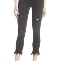 We the Free by Free People Great Heights Frayed Skinny Jeans | Nordstrom