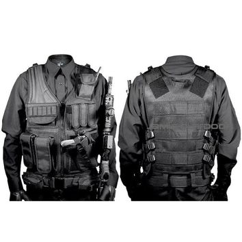 Black tan green woodland acu Military Tactical Vest Paintball Army Gear Black MOLLE Carrier Airsoft Combat Tactical Vest