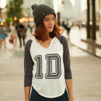 1D Shirt Women TShirts One Direction Clothing Women Tee Shirt 1 Direction Baseball Shirts Women Long Sleeve Shirts Tee