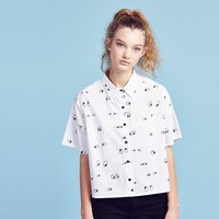 Lazy Oaf Eyeball Shirt