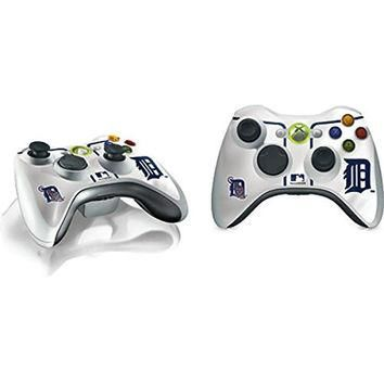 MLB Detroit Tigers Xbox 360 Wireless Controller Skin - Detroit Tigers Home Jersey Viny