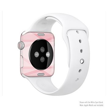 The Subtle Layered Pink Salmon Full-Body Skin Set for the Apple Watch