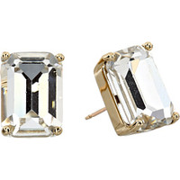 Kate Spade New York Kate Spade Emerald Cut Stud Earrings