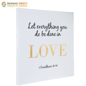 1 Corinthians 16:14 Canvas Wall Decor | Hobby Lobby | 5372735