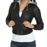 Faux Leather Bomber Jacket | Shop Jackets at Wet Seal