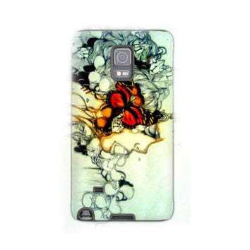 Note 4 case - Note 4 cover - Cell Phone case - Phone case - Phone cover - Grunge Art - Device case- Case for the note 4