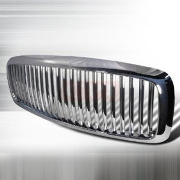 Dodge 2002-2005 Dodge Ram Pick Up Vertical Grille - Chrome PERFORMANCE