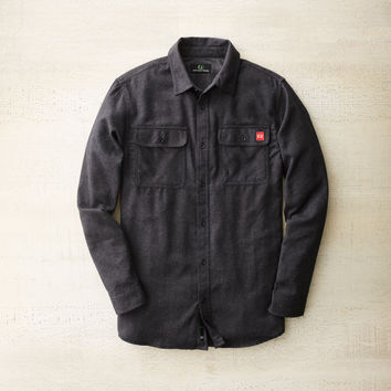 Bridger Flannel Dark Charcoal