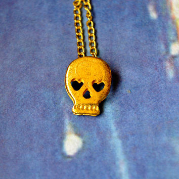 Forbidden Skull Necklace