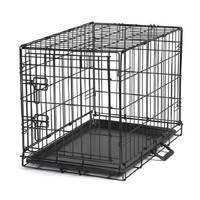 Black Metal Pet Crate | Overstock.com Shopping - The Best Deals on Crates
