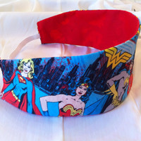 Wonder Woman Supergirl and Batgirl Reversible by StylishGeek