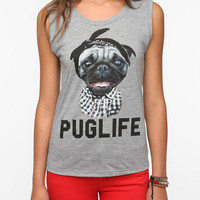 Urban Outfitters - Pug Life Muscle Tee