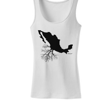 Mexican Roots Design Womens Tank Top by TooLoud