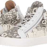 Giuseppe Zanotti Mens May London Thunder Mid Top Sneaker