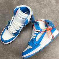 NIKE AIR JORDAN 1 x OFF WHITE High basketball shoes