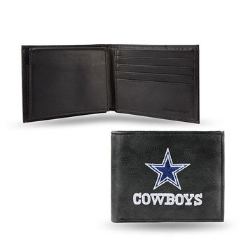 NFL Dallas Cowboys Leather Billfold FREE SHIPPING!