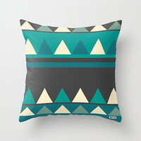 Geometric Decorative throw pillow cover - Modern accent pillows for sofa - colorful pillow case - Original textile couch pillow