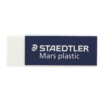 "Staedtler, Inc. Plastic Eraser, Latex-free, 2-1/2""x7/8""x1/2"", 4/PK, WE"