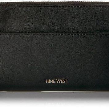 ONETOW Nine West Nine West Zip Around Wallet with Pouch Wallet Wallet