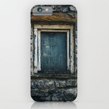 Who's That Peepin' In The Window? iPhone & iPod Case by Mixed Imagery