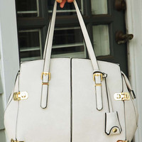 Always On Time Purse: Gray