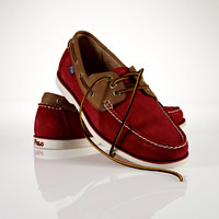 Suede Blackley Boat Shoe