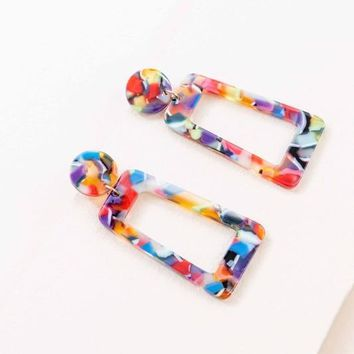Retroactive Dangle Earrings