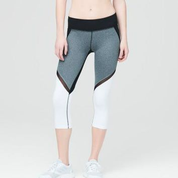 LLD Colorblock Crop Leggings - Aeropostale
