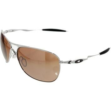 Oakley Men's Crosshair OO4060-02 Silver Square Sunglasses