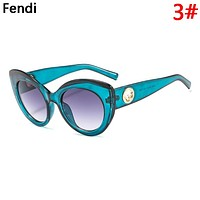 Fendi Fashion New Polarized Women Men Sunscreen Glasses Eyeglasses 3#