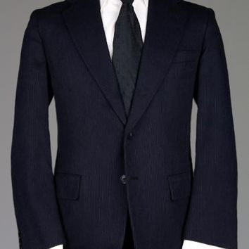 Vintage 60s Canvassed Hickey Freeman Suit 42 R Monkey Suit