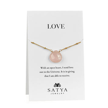 Cultivate Compassion Carded Necklace