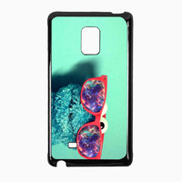 cookie monster glass nebula c7629aef-d76a-46b5-a4ad-3a6b334d24bb for Samsung Galaxy Note Edge CASE *RA*