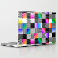 Mondrian Couture Laptop & iPad Skin by Dood_L
